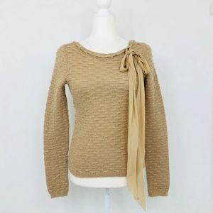 MOSCHINO CHEAP & CHIC Sweater Basket Weave Texture